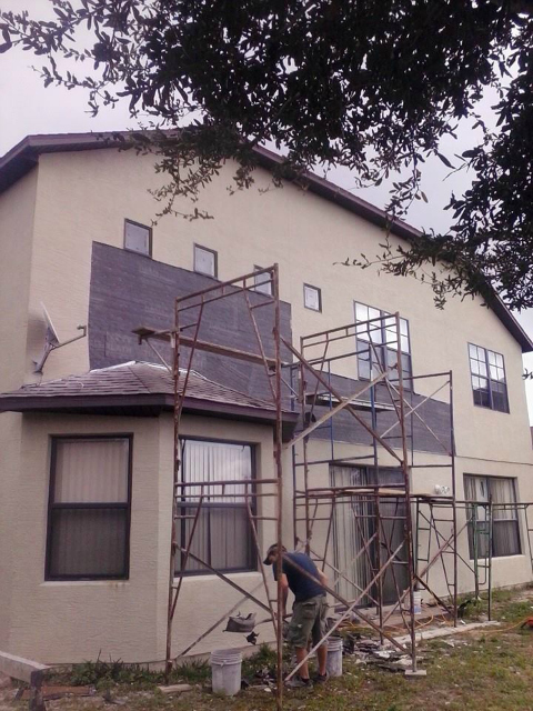 No caulk stucco repair jackson stucco Stucco modular homes